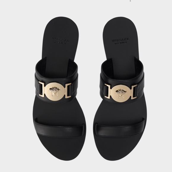 Versace Shoes | Versace Medusa Flat